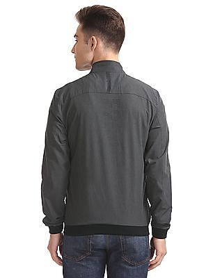 Flying Machine Panelled Bomber Jacket