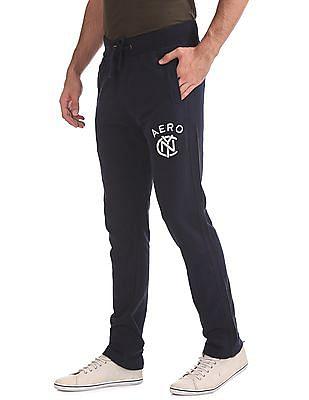 Aeropostale Regular Fit Drawstring Waist Track Pants