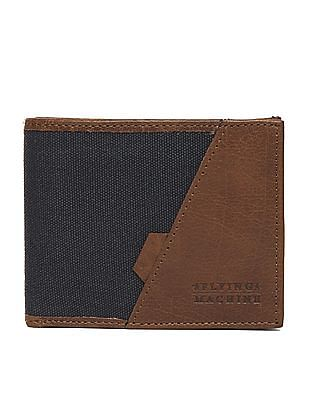 Flying Machine Colour Block Bi-Fold Wallet