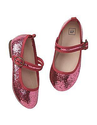 GAP Baby Glitter Mary Jane Flats