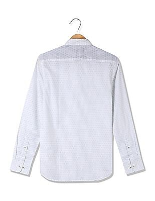 USPA Tailored Slim Fit Cotton Shirt