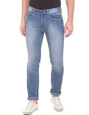 Flying Machine Slim Fit Stone Washed Jeans
