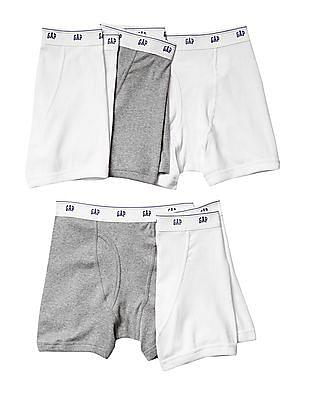 GAP Boys Basic Boxer Briefs - Pack of 5