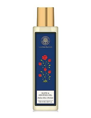 FOREST ESSENTIALS Bath And Shower Oil - Indian Rose Absolute