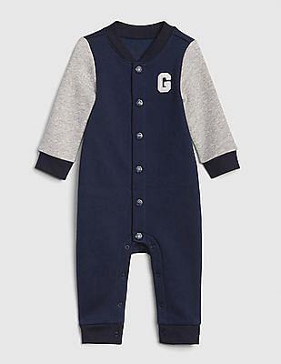 GAP Baby Letterman One-Piece Bodysuit