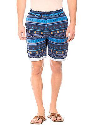 Colt Regular Fit Printed Shorts