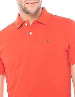 Izod Slim Fit Cotton Polo Shirt