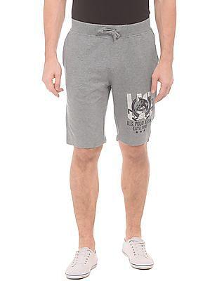 U.S. Polo Assn. Denim Co. Heathered Knit Shorts