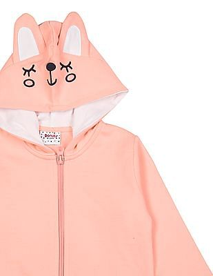 Donuts Girls Hooded Zip-Up Jacket