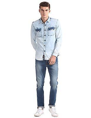 U.S. Polo Assn. Denim Co. Slim Fit Washed Shirt