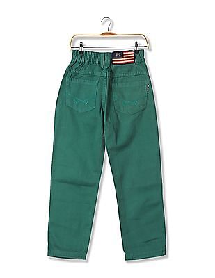U.S. Polo Assn. Kids Boys Standard Fit Solid Trousers