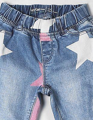 GAP Toddler Girl Blue Skinny Jeggings