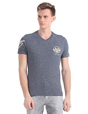 U.S. Polo Assn. Denim Co. Regular Fit Heathered T-Shirt