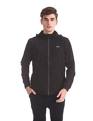 USPA Active Detachable Hood Active Sweatshirt