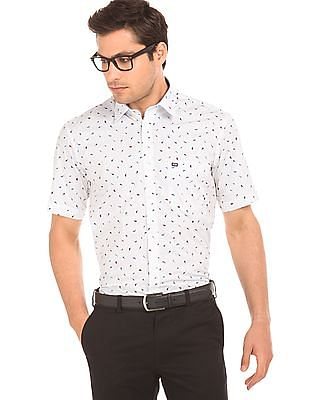 Arrow Sports Robin Printed Regular Fit Shirt