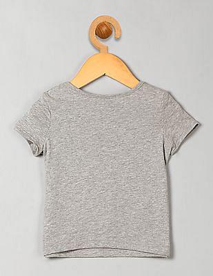 GAP Baby Grey Graphic Short Sleeve Tee