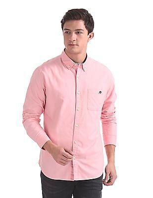 Aeropostale Regular Fit Solid Shirt