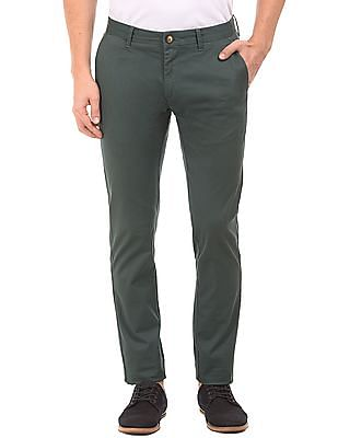 U.S. Polo Assn. Printed Cotton Lycra Trousers