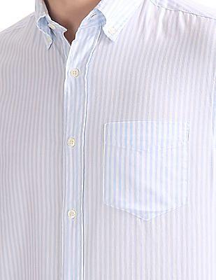 Gant Windblown Oxford Barstripe Button Down Shirt