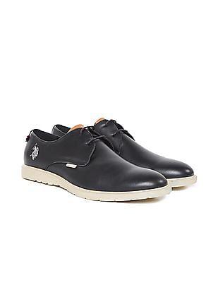 U.S. Polo Assn. Contrast Sole Derby Shoes