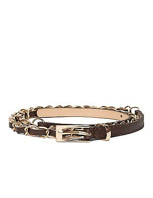 SUGR Slim Link Chain Belt