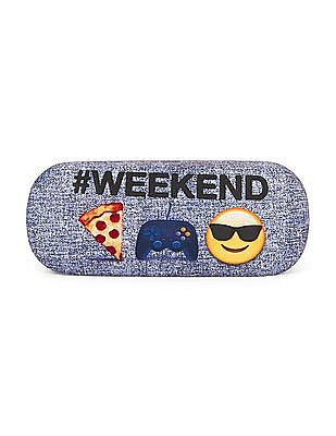 The Children's Place Boys 'Weekend' Emoji Sunglasses Case