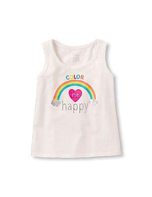 8ad1736dcda11 Buy Toddler Girl Toddler Girl Short Sleeve Flutter Embellished ...
