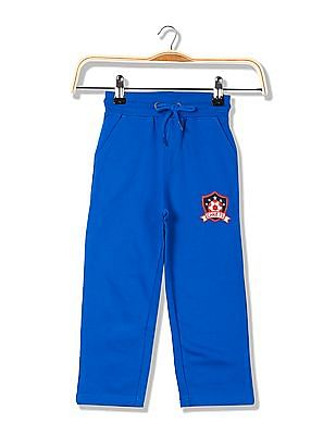 Cherokee Boys Printed Knit Track Pants