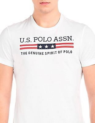 U.S. Polo Assn. Slim Fit Embroidered T-Shirt