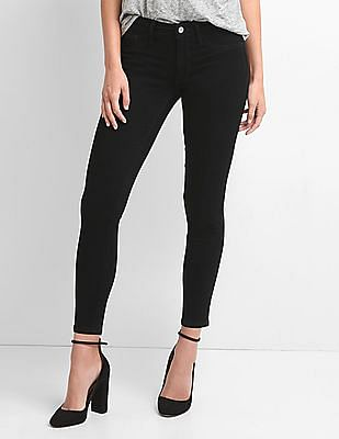 GAP Mid Rise Denim Easy Leggings
