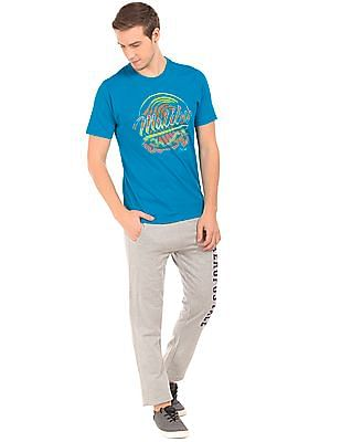 Aeropostale Graphic Print Crew Neck T-Shirt