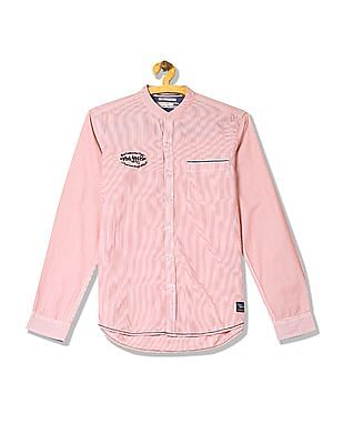 Flying Machine Regular Fit Stripe Shirt