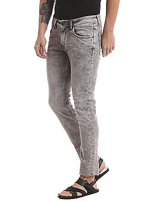 True Blue Slim Fit Cloud Wash Jeans