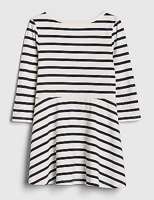 GAP Baby Print Fit And Flare Dress