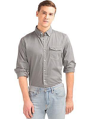 GAP True Wash Poplin Standard Fit Shirt