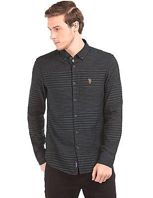 U.S. Polo Assn. Denim Co. Striped Button Down Shirt