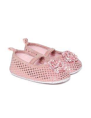 Day 2 Day Girls Star Embellished Ballerinas