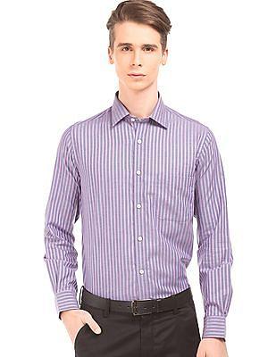 Arrow Striped Regular Fit Shirt