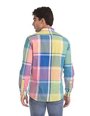 Arrow Sports Hudson Semi Slim Fit Check Shirt