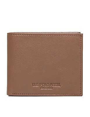 U.S. Polo Assn. Grained Leather Bi-Fold Wallet