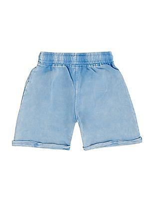 Donuts Boys Elasticized Waist Knit Shorts