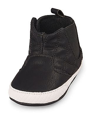 The Children's Place Baby Boys Quilted Sneaker Boot