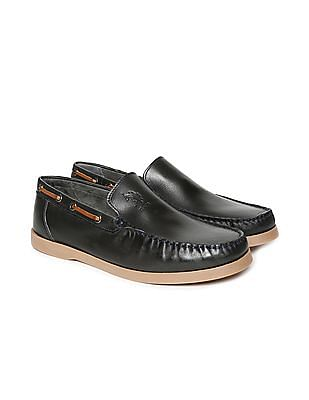 U.S. Polo Assn. Mock Lacing Leather Loafers