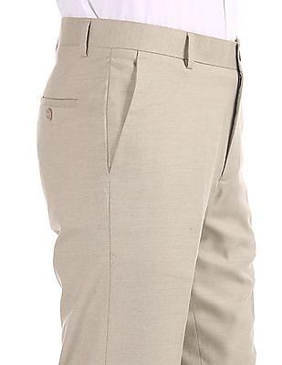 Excalibur Classic Regular Fit Flat Front Trousers