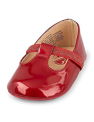 The Children's Place Baby T-Strap Ballet Shoes