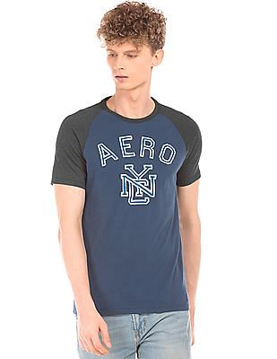 Aeropostale Colour Block Crew Neck T-Shirt