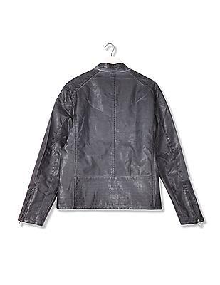 U.S. Polo Assn. Denim Co. Standard Fit Stand Collar Jacket