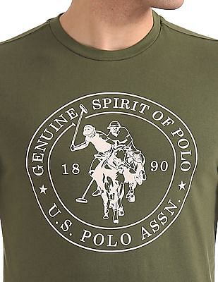USPA Innerwear Crew Neck Graphic T-Shirt