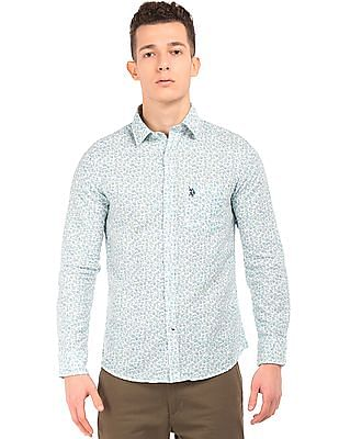 U.S. Polo Assn. Floral Print Regular Fit Shirt