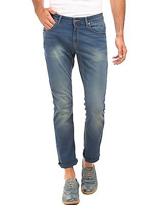 Nautica Washed Tapered Fit Jeans